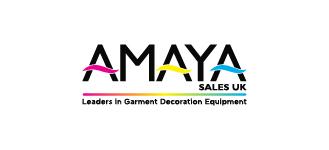 Amaya Sales UK Leaders in Garment Decoration Equipment Logo