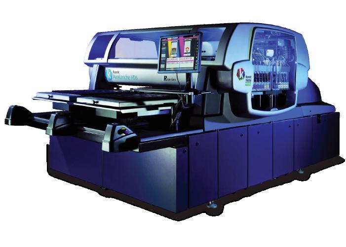 Kornit Avalanche HD6 Direct to Garment Printer