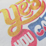 Yes you can design made with Forever Subli-Light (No-Cut) Glitter Paper