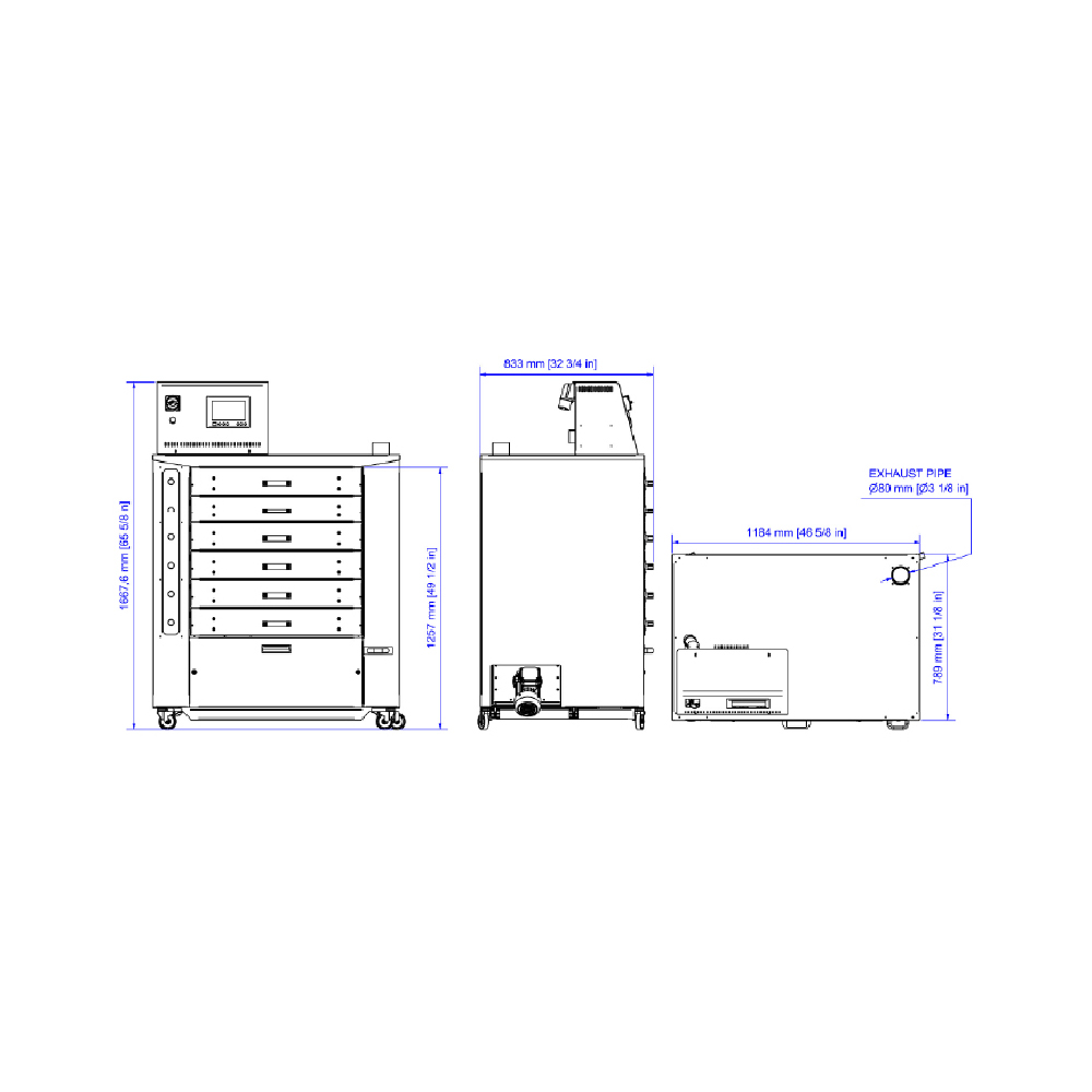 Chiossi e Cavazzuti Dido Pro Textile Dryer Diagram