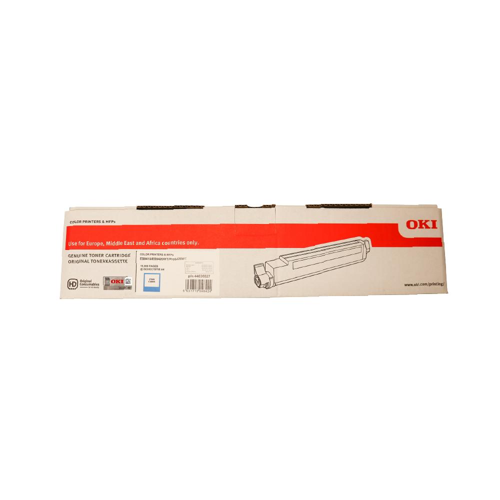 OKI PRO9420WT ES94X0 A3 Printer Cyan Toner