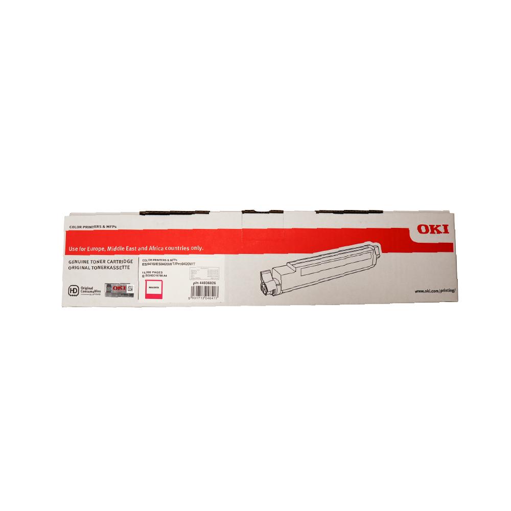 OKI PRO9420WT ES94X0 A3 Printer Magenta Toner