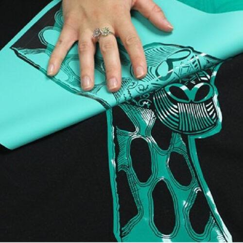 Giraffe print being transferred using Forever Flex Soft (No-Cut) Matt Paper