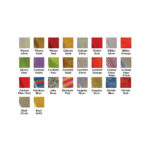 Forever Hot Stamping Foils Pattern Colours Chart
