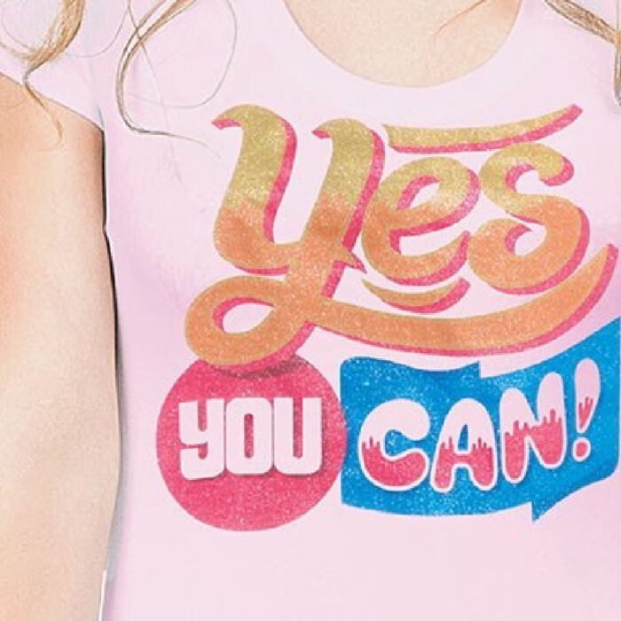 Yes you can print t-shirt made with Forever Subli-Light (No Cut) Glitter Paper