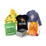 Forever Laser Dark Paper Applications Collage of Bag Book Jacket T-shirt Coat Tote Bag