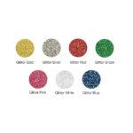 Sef Glitterflex Paper Colour Chart