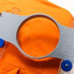 Hoopmaster Station Kit with Mighty Hoop and Orange Sweatshirt