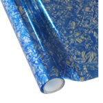 Forever Hot Stamping Foils Pattern Marble Blue