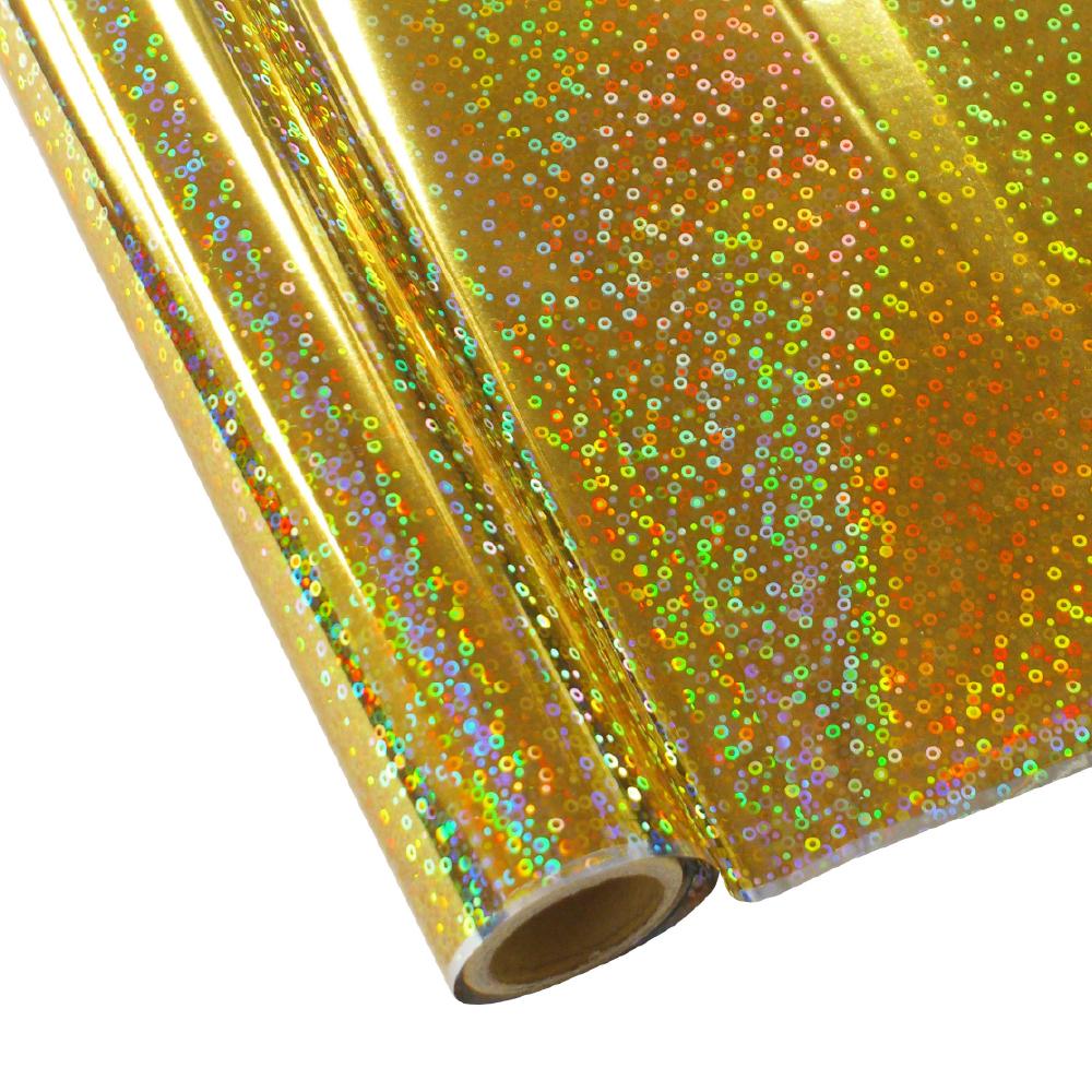 Forever Hot Stamping Foils Pattern Sequins Gold