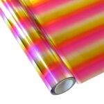 Hot Stamping Foil – Pattern – MCAA05 Rainbow Pink_FV016RAINPINK