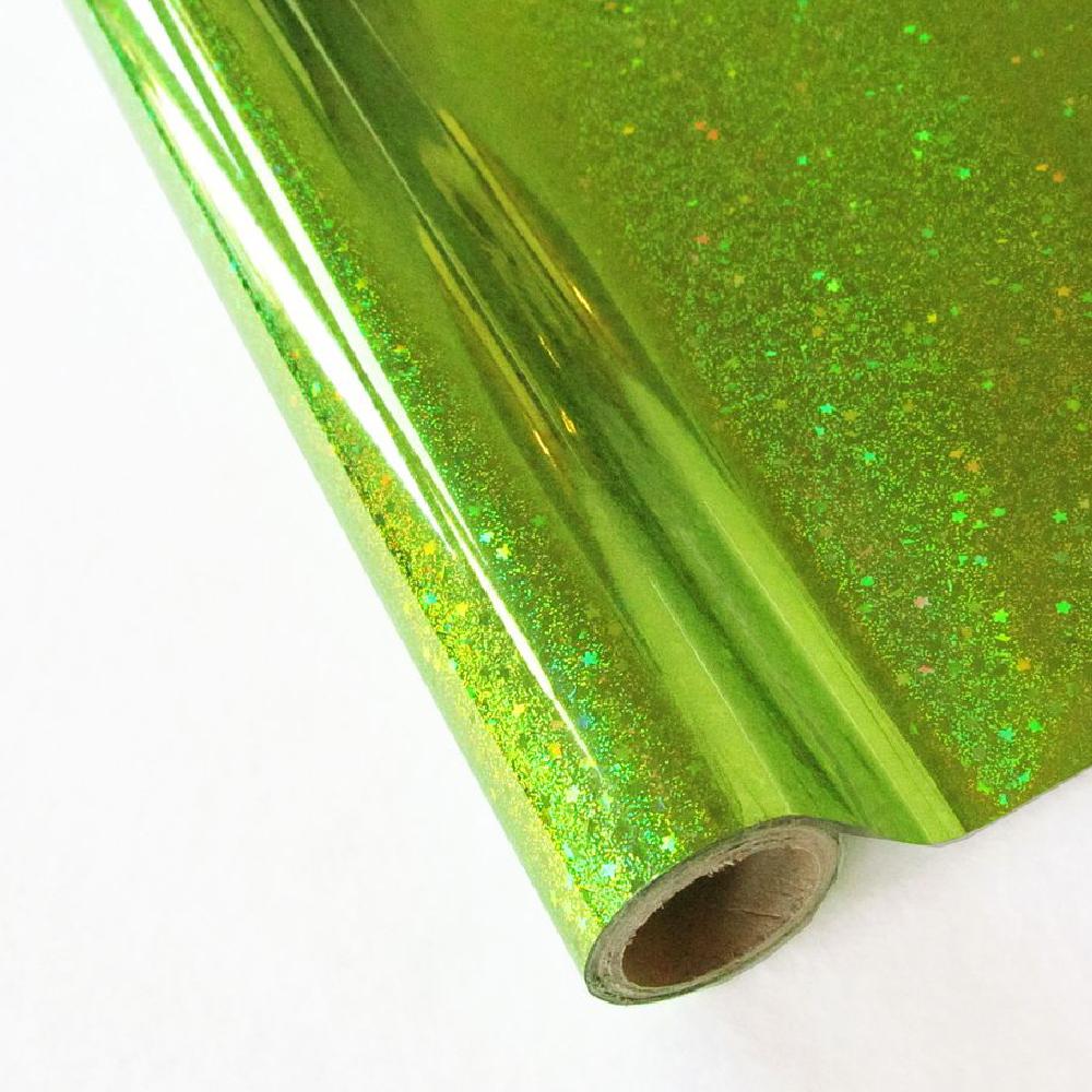 Forever Hot Stamping Foils Pattern Glitter Kiwi
