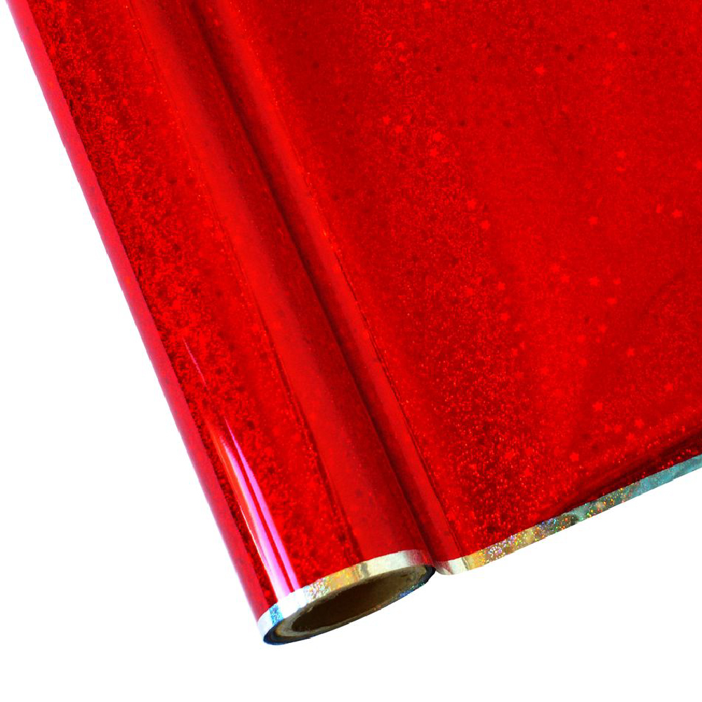 Forever Hot Stamping Foils Pattern Glitter Red