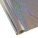 Forever Hot Stamping Foils Pattern Sequins Silver