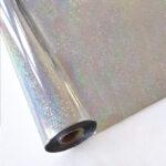Forever Hot Stamping Foils Pattern Glitter Silver