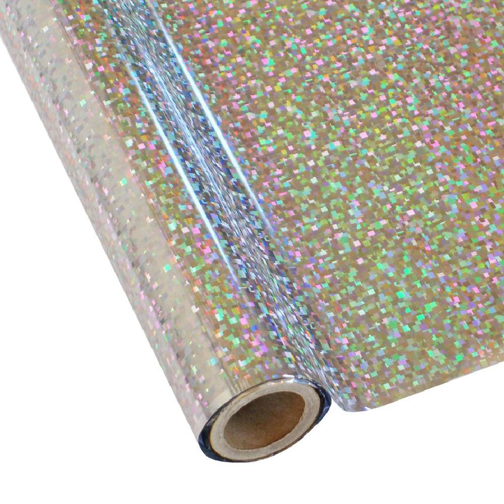 Forever Hot Stamping Foils Pattern Cubism Silver