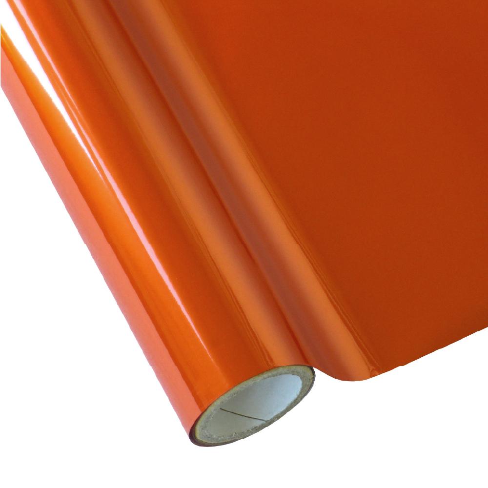 Forever Transfers Standard Hot Stamping Foil in Matte Orange