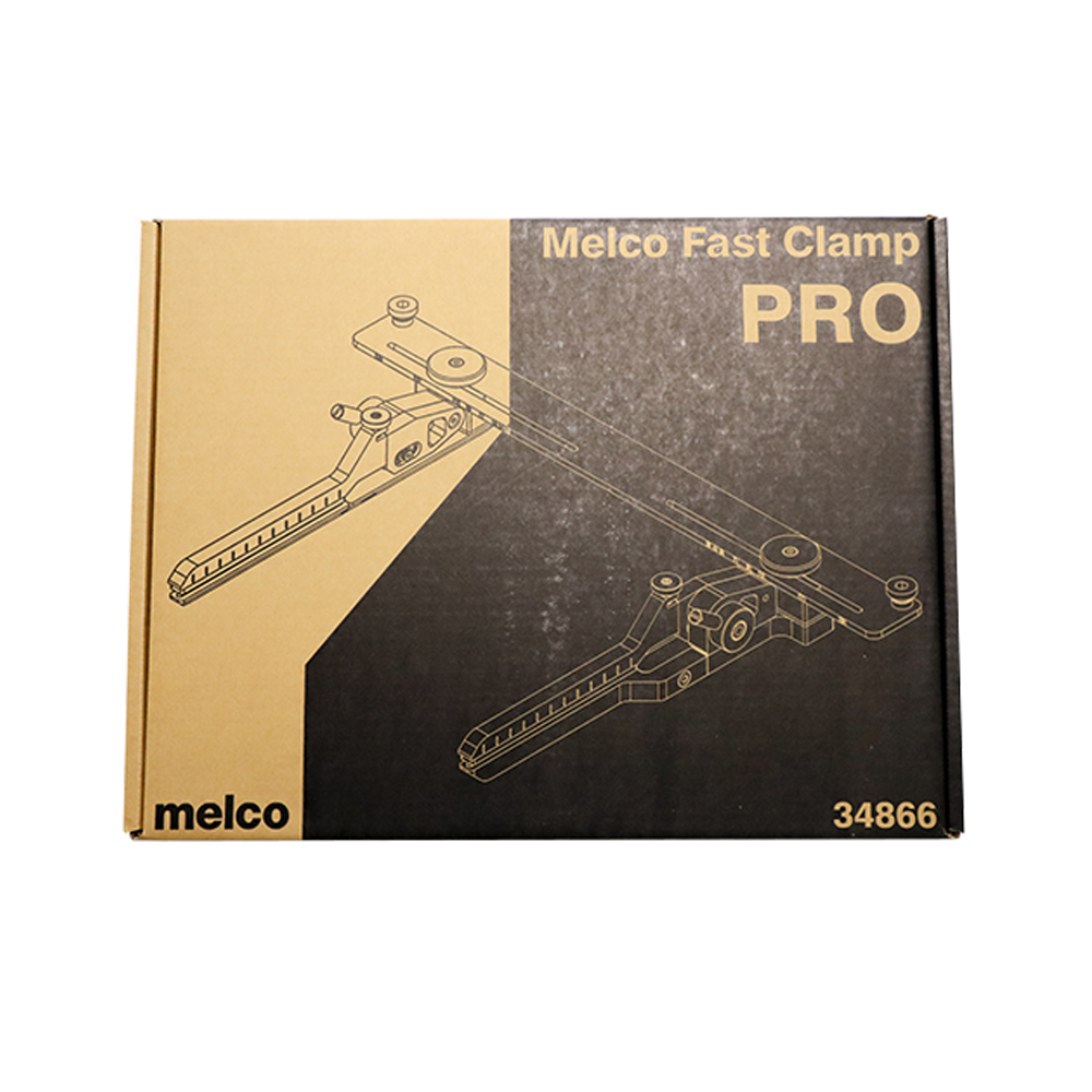 Melco Embroidery Machines Fast Clamp Pro in Packaging