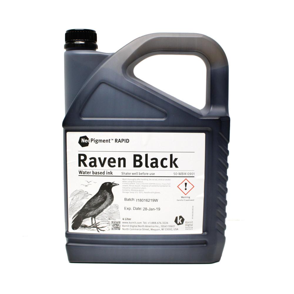 Kornit Neopigment Rapid Raven Black Ink 4Lt