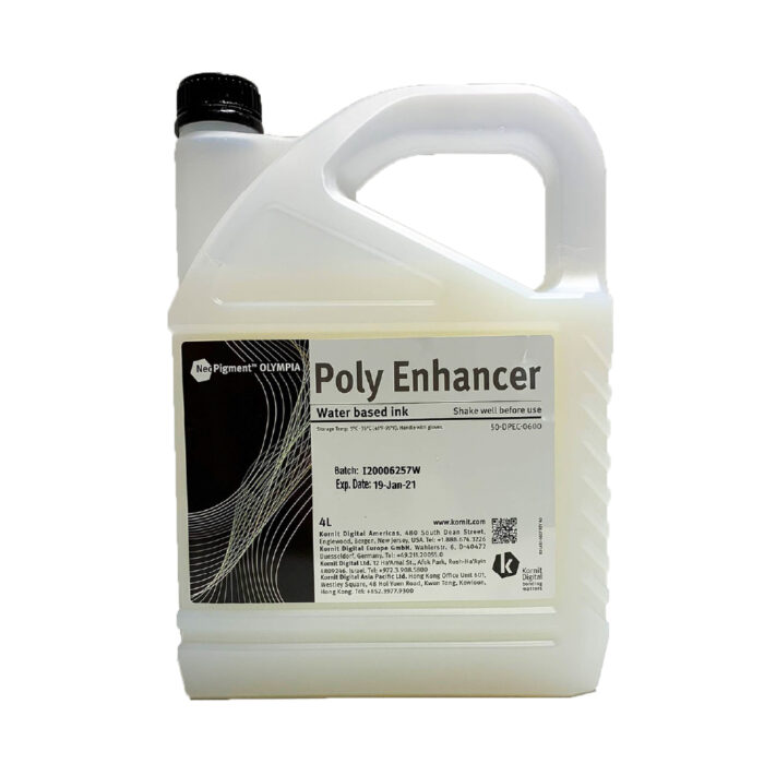 Kornit Neopigment Olympia Poly Enhancer Channel 4Lt