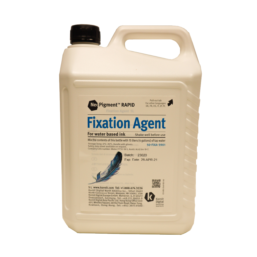Kornit Neopigment Rapid Fixation Agent 5Lt