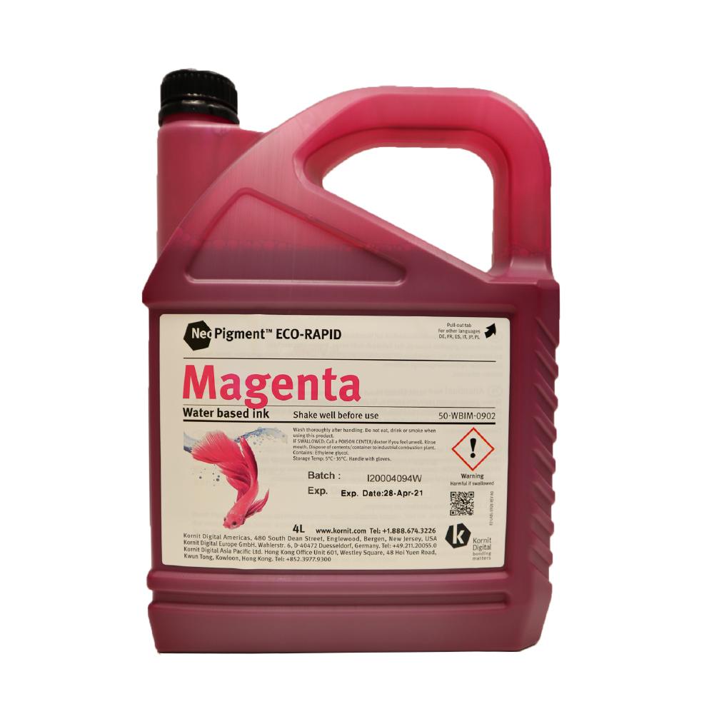 Kornit Neopigment Eco Rapid Magenta Ink 4Lt