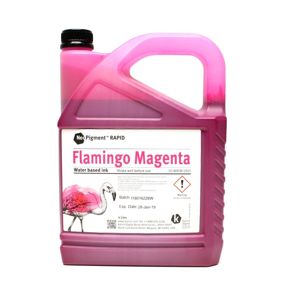 Kornit Neopigment Rapid Flamingo Magenta Ink 4Lt