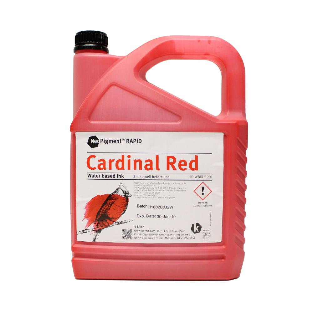 Kornit Neopigment Rapid Cardinal Red Ink 4Lt