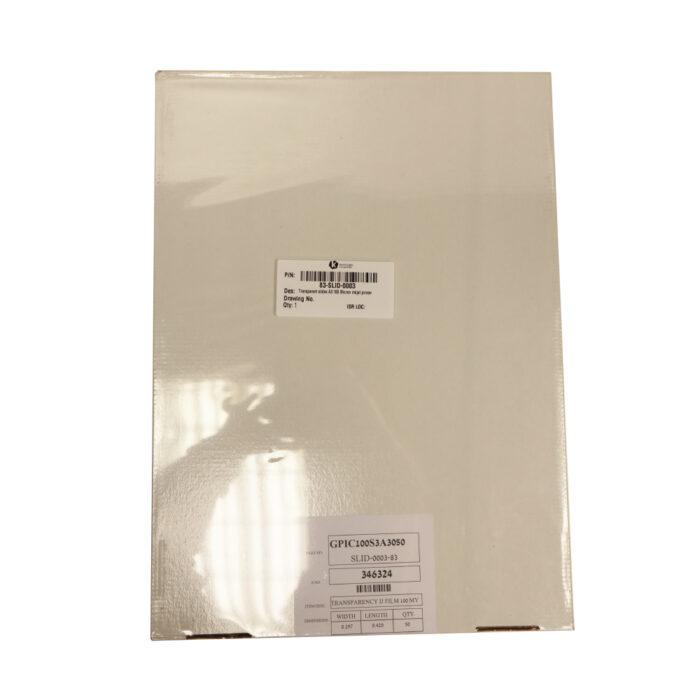 Kornit Slides A3 100 Micron + paper for inkjet printer