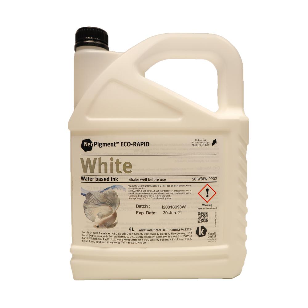 Kornit Neopigment Eco Rapid White Ink 4Lt