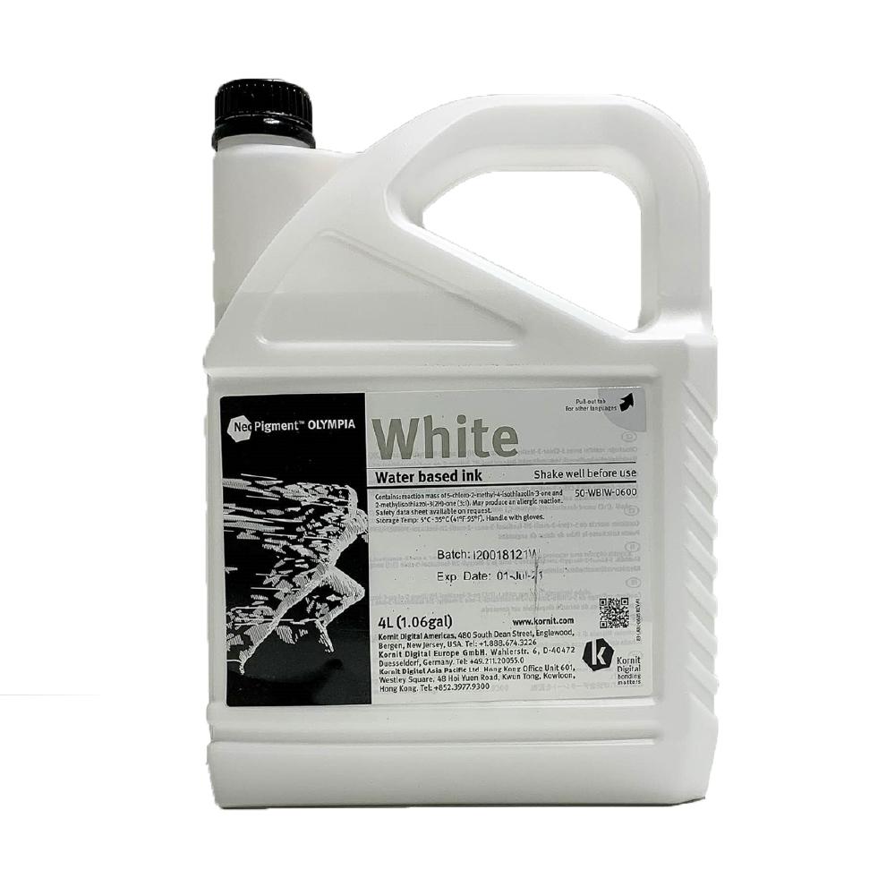 Kornit Neopigment Olympia White Ink 4Lt