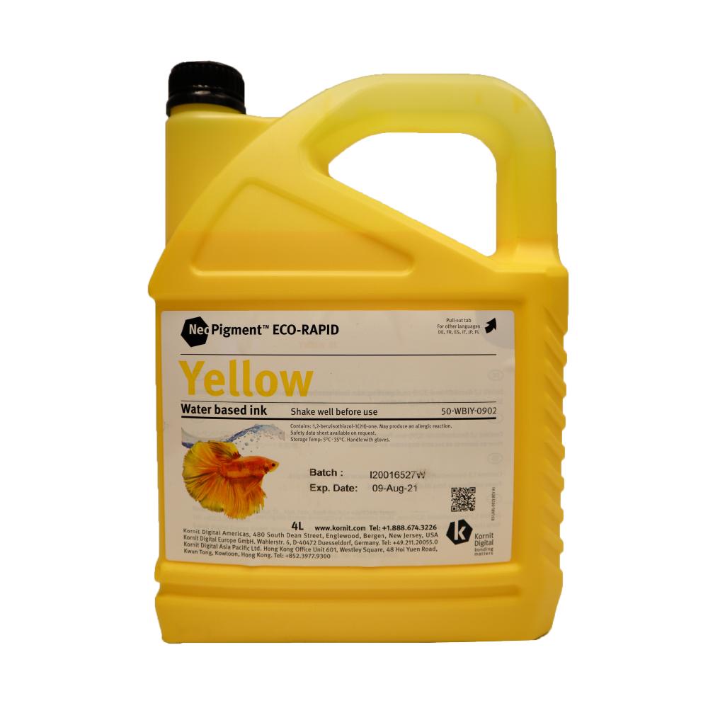 Kornit Neopigment Eco Rapid Yellow Ink 4Lt