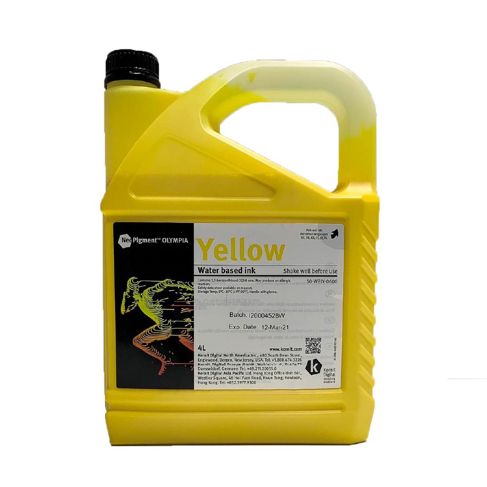 Kornit Neopigment Olympia Yellow Ink 4Lt