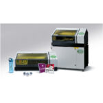 Two Roland VersaUV LEF-12I Flat Bed Printers with applications