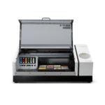 Roland VersaUV LEF2-200 Flatbed Printer with lid open