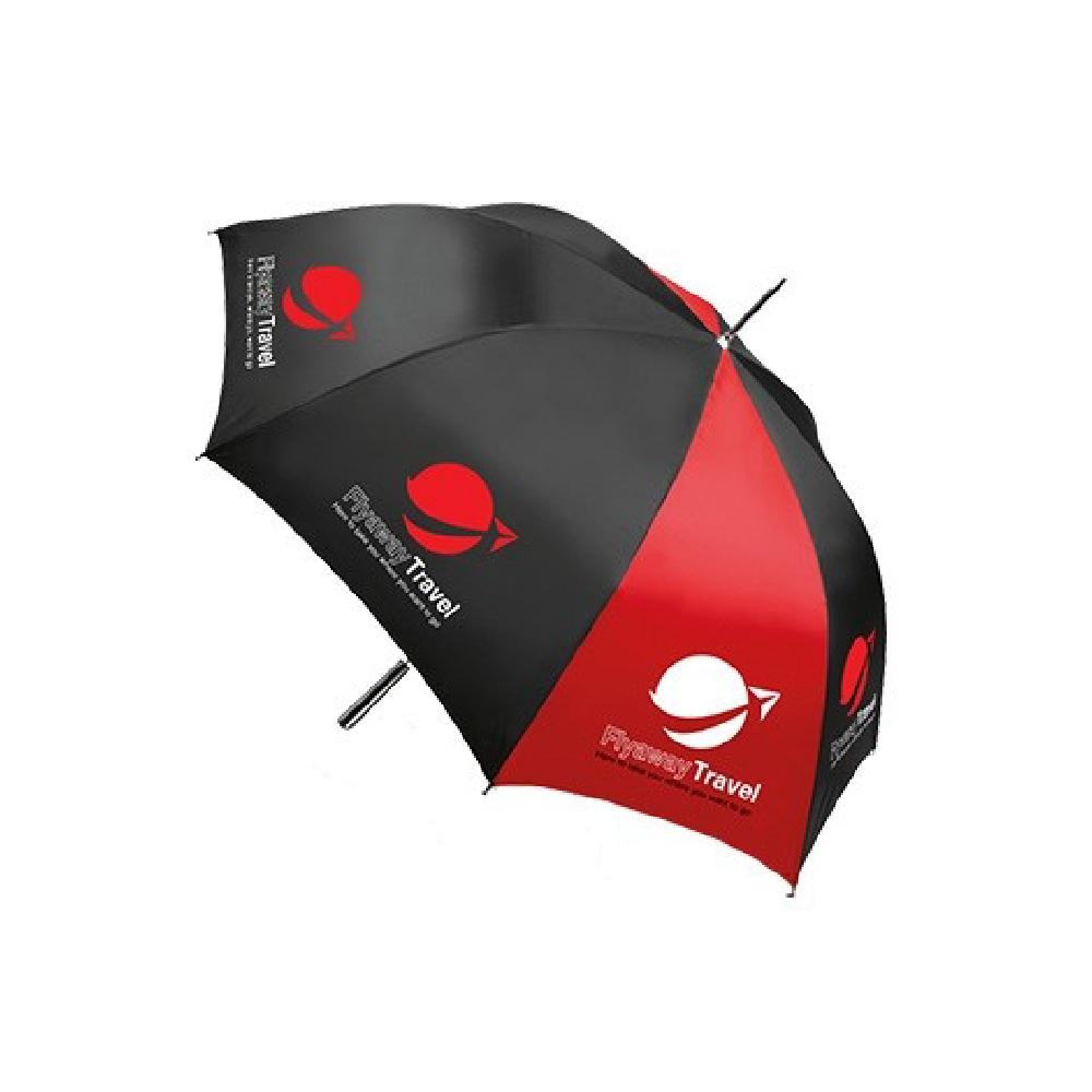 Umbrella with graphic print made with Sef Maxxflex Nylon Vinyl
