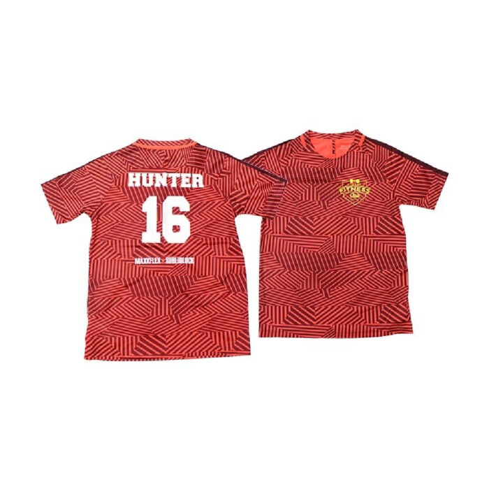 Football Shirt number and name design made with Maxxflex Subliblock II Vinyl