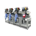 Melco EMT16X Four Head Embroidery Machine with Flex_MELCO-EMT16X-TWO-HEADS