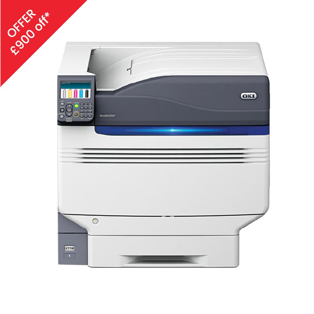 OKI 9541WT White Toner Printer with offer flash