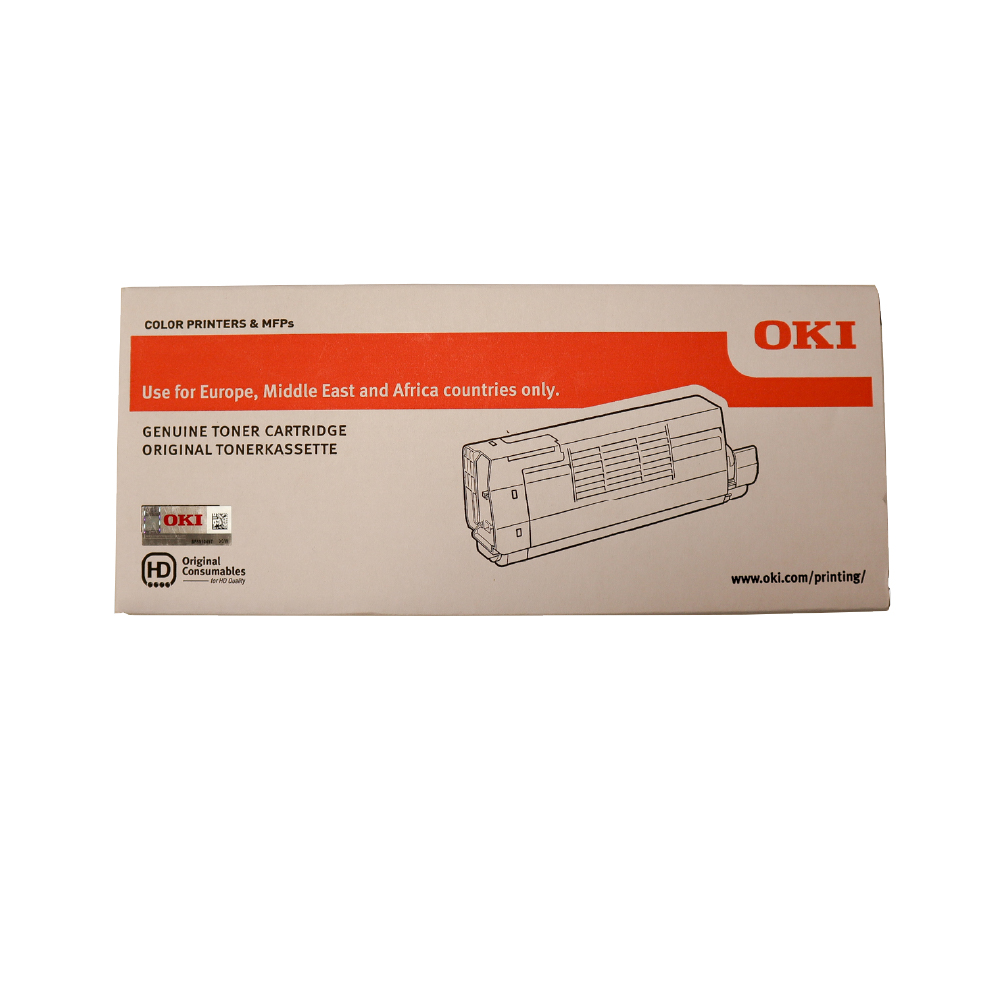 OKI C711WT A4 Printer Cyan Toner