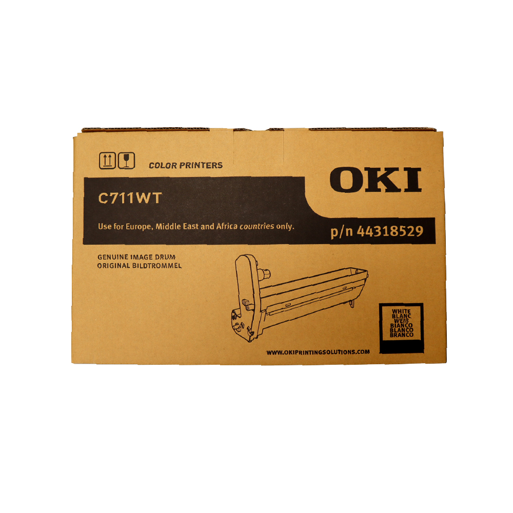 OKI C711WT A4 Printer White EP Drum