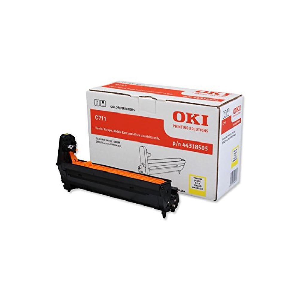 OKI C711WT A4 Printer Yellow EP Drum