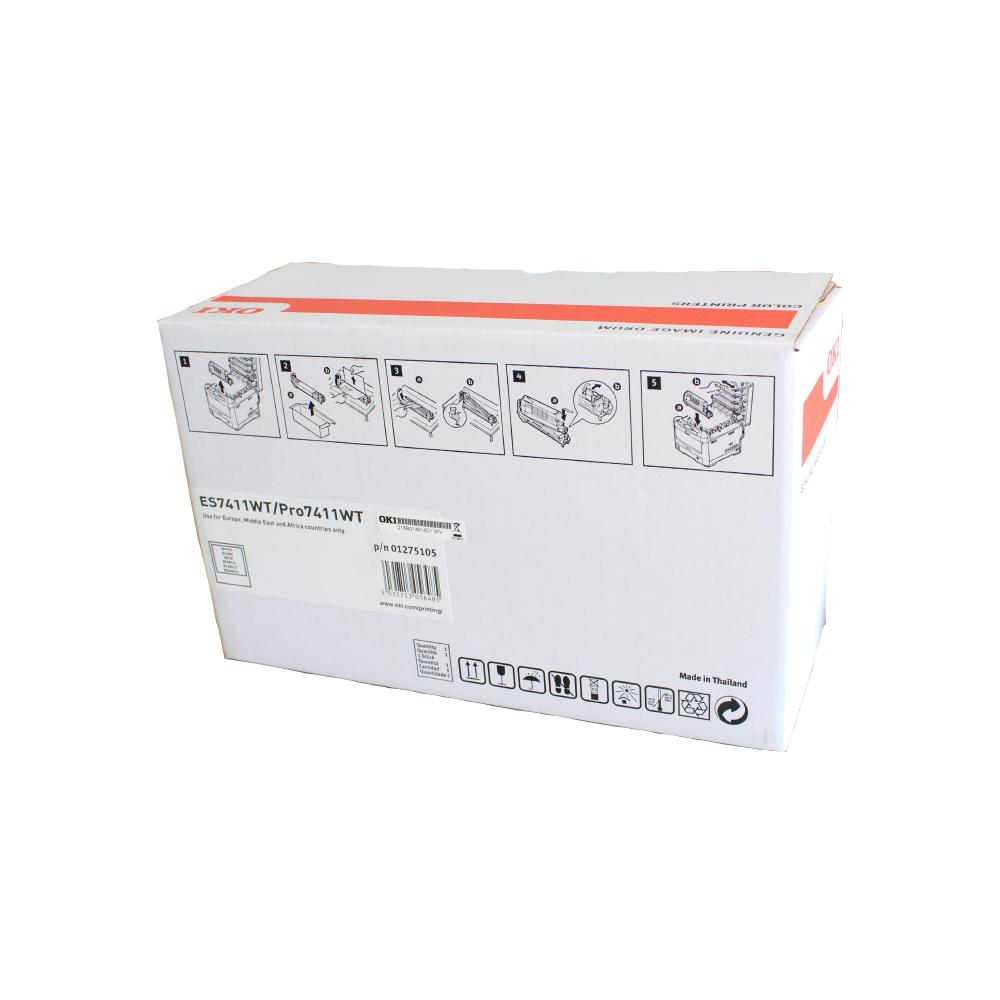 OKI PRO7411WT A4 Printer White EP Drum