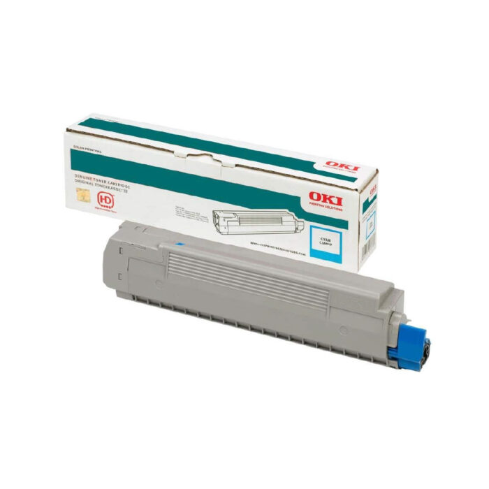 OKI PRO8432WT A3 Printer Cyan Toner