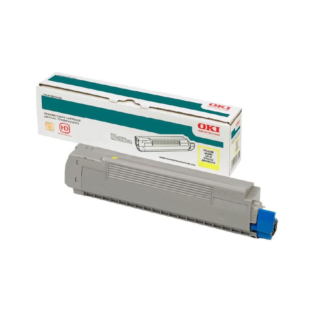 OKI PRO8432WT A3 Printer Yellow Toner