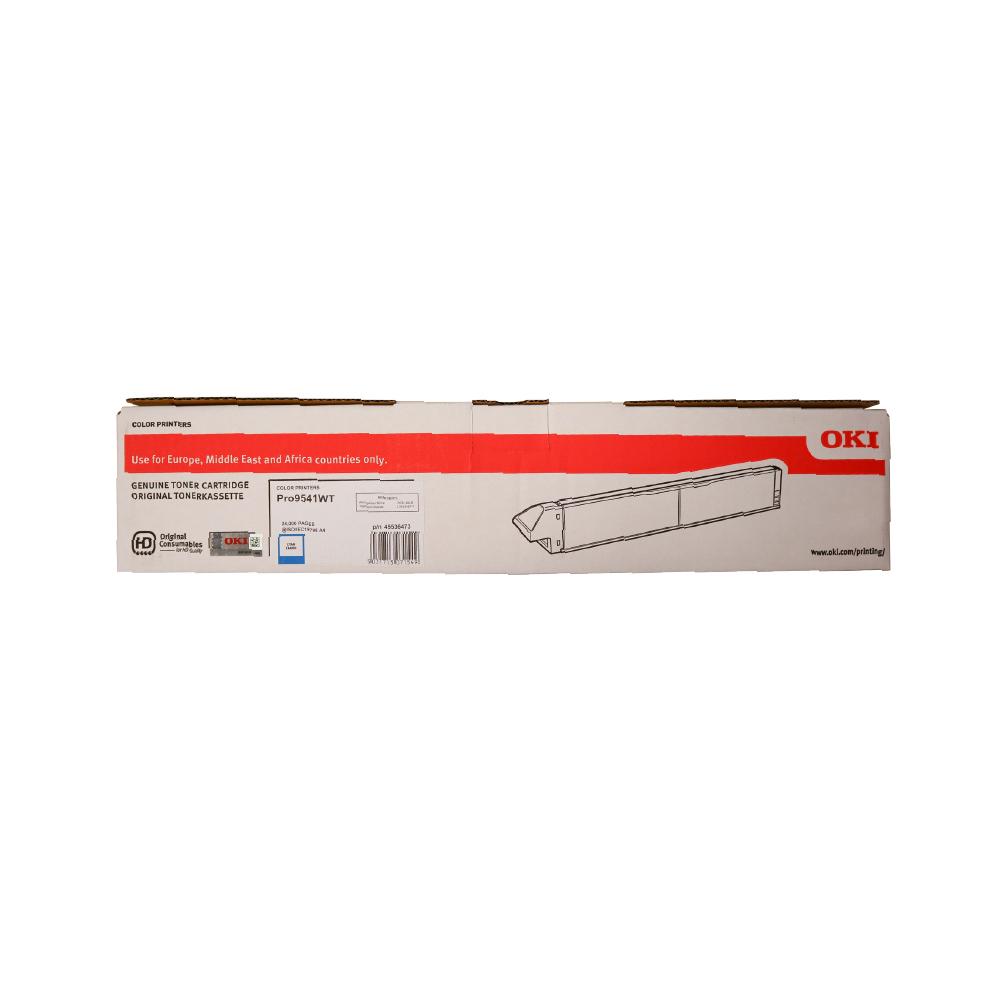 OKI PRO9541WT A3 Printer Cyan Toner