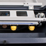 Polyprint Pretreater Maker IV close up of nozzle heads