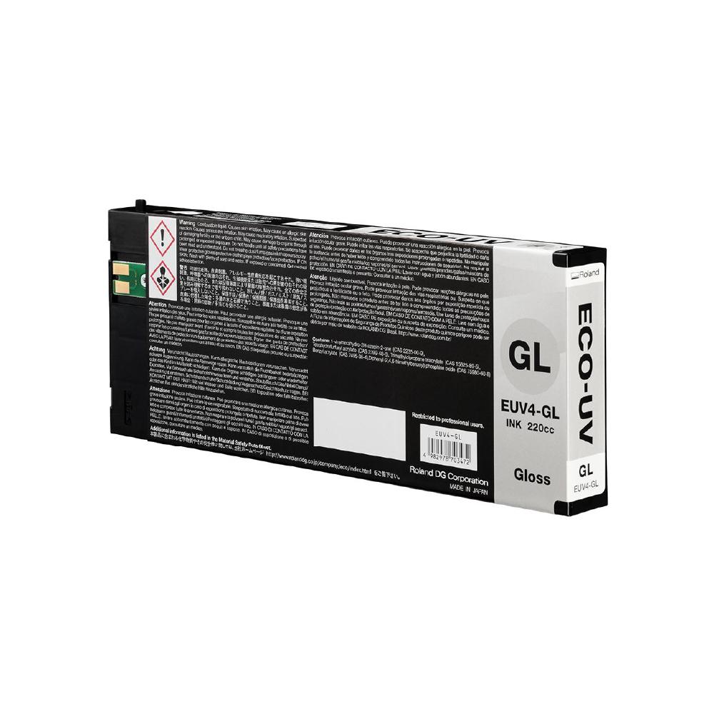 Roland ECO UV4 Gloss Ink Cartridge 220cc