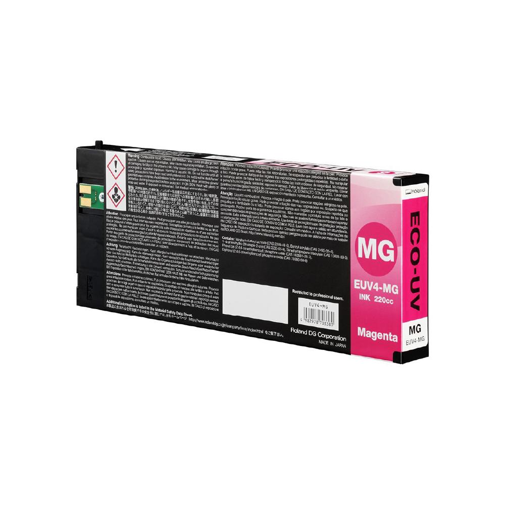 Roland ECO UV4 Magenta Ink Cartridge 220cc