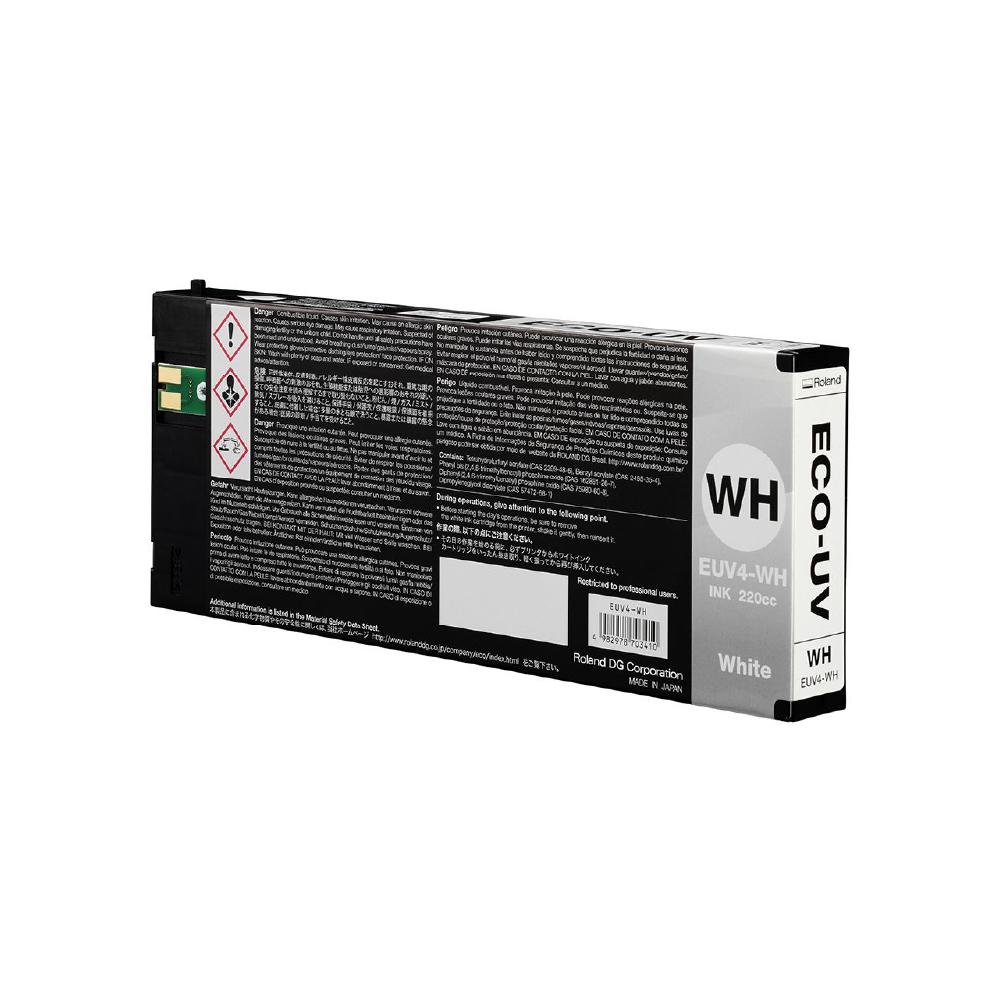 Roland ECO UV4 White Ink Cartridge 220cc